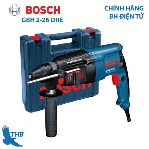 Máy khoan búa Máy khoan bê tông Bosch GBH 2-26 DRE Công suất 800W Mũi khoan búa 26mm Bảo hành 12 tháng