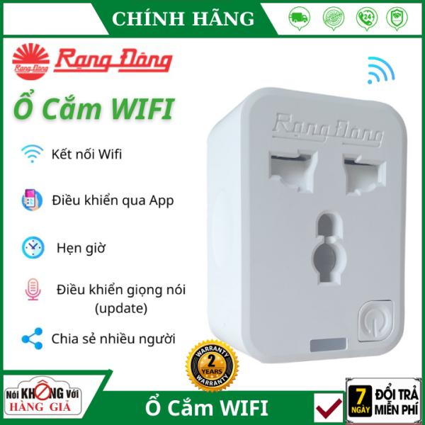 (Bảo Hành 2 Năm), Ổ cắm wifi rạng đông 16A OC01WF Thông minh điều khiển từ xa qua app , chia sẻ quản lý , hẹn giờ thông minh
