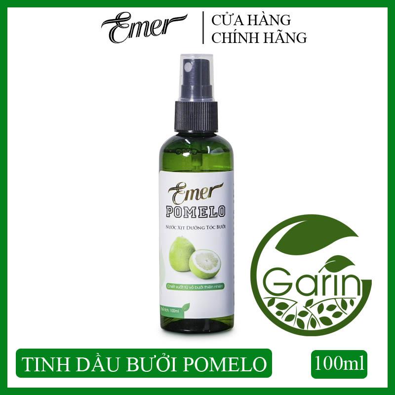 Nước xịt dưỡng tóc tinh dầu bưởi kích mọc tóc Pomelo Emer 100ml giúp giảm rụng tóc, kích thích tóc mọc nhanh, cung cấp dưỡng chất cho tóc luôn chắc khỏe và suôn mượt tự nhiên
