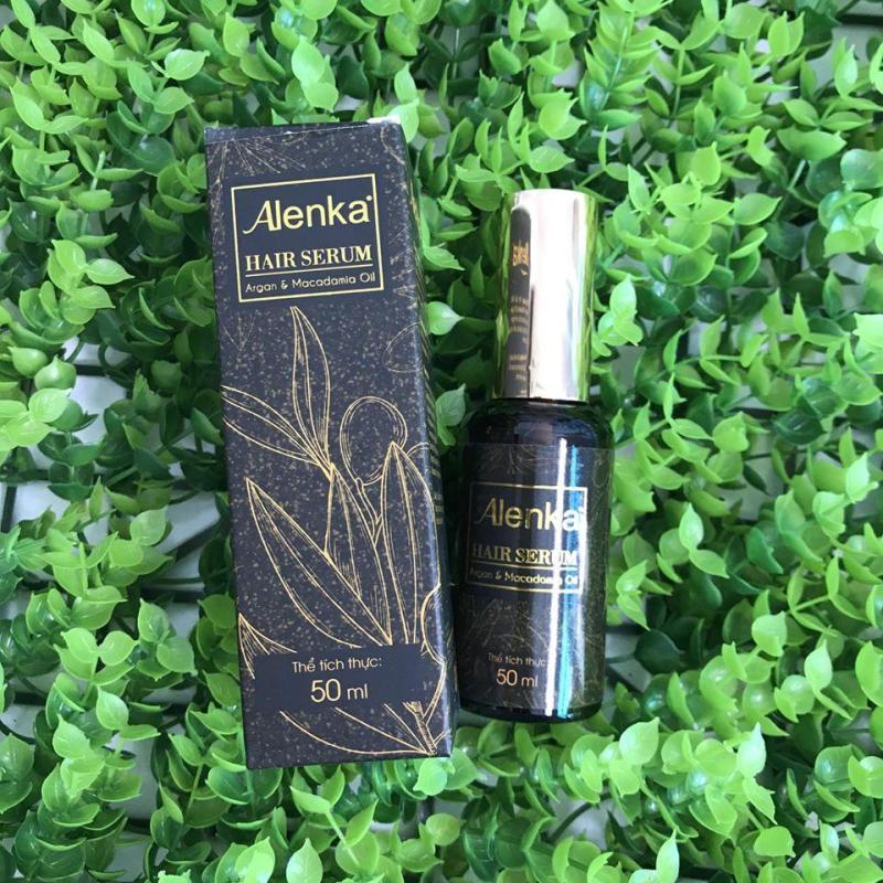 Tinh dầu dưỡng tóc, giữ nếp tóc uốn alenka hair serum 50ml nhập khẩu
