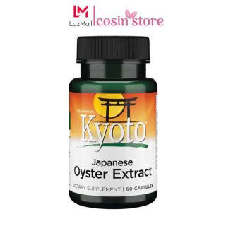 Tinh Chất Hàu Biển Swanson Kyoto Japanese Oyster Extract 60 Viên của Mỹ - Hỗ trợ sức khỏe nam giới thumbnail
