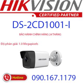 [HCM]Camera IP hồng ngoại 1.0 Megapixel HIKVISION DS-2CD1001-I thumbnail