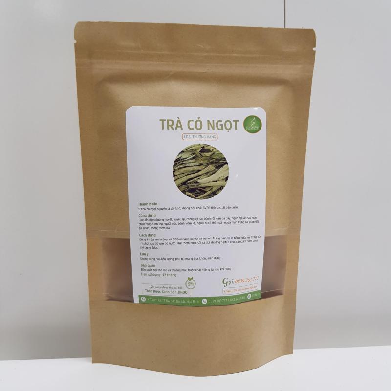 Trà cỏ ngọt nguyên lá khô thượng hạng gói 100gr - TM012 cao cấp