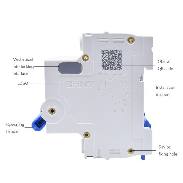 ATTOMAT NXB-63 2P 16A (1 HỘP 6 CHIẾC)
