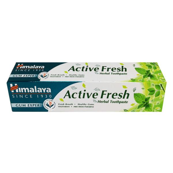 Kem đánh răng Active Fresh Himalaya 100g (Ấn Độ)
