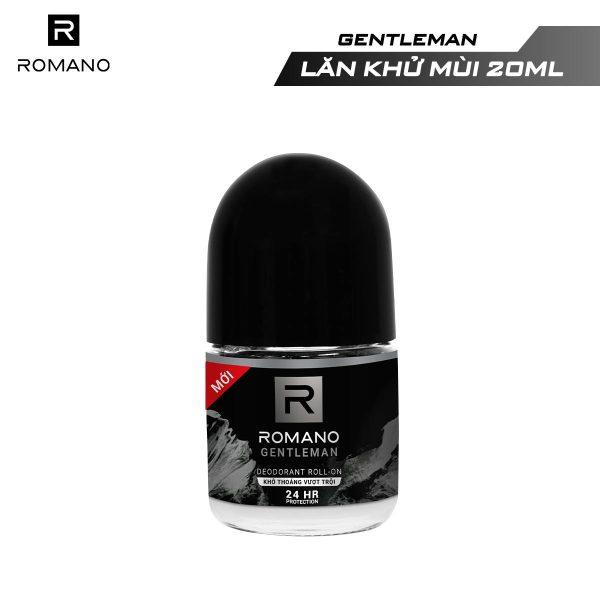 [GIFT] Lăn khử mùi Romano Gentleman 25ml