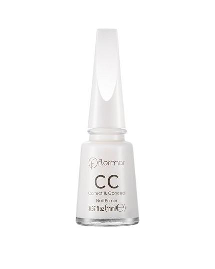 Sơn móng Flormar CC Correct&Conceal Nail Primer (trắng) 11ml tốt nhất