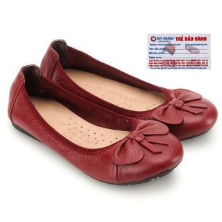 Giày nữ búp bê da bò Huy Hoàng nhiều màu HK7909-10-11