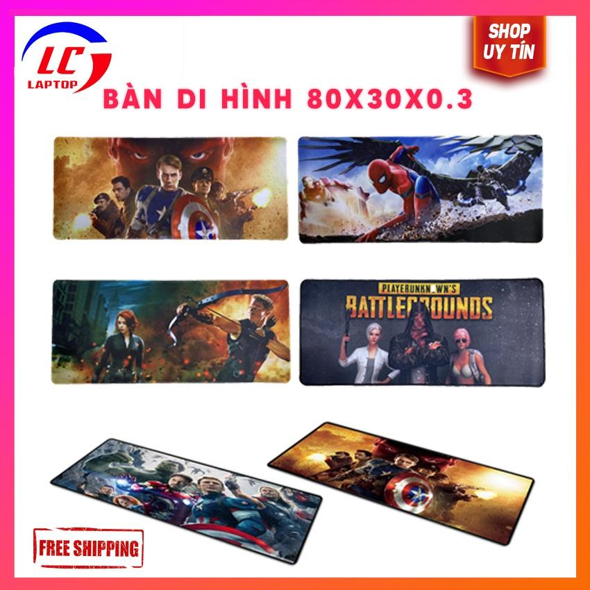 Giá [CHỐNG NƯỚC] Miếng lót chuột chơi game, bàn di chuột Biệt đội siêu anh hùng Avengers cỡ lớn - laptop game