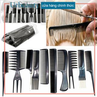 ANYAR 10Pcs chiếc nhựa thân thiện với môi trường Lược chống điện Massage tĩnh Lược Chải tóc cắt thumbnail