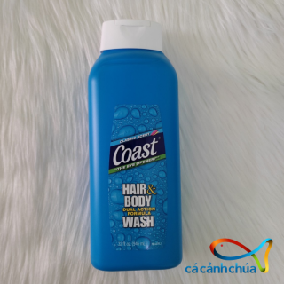 [ Mẫu mới ] Sữa tắm gội Coast Hair Body Wash 2in1, chai 946ml - Mỹ thumbnail