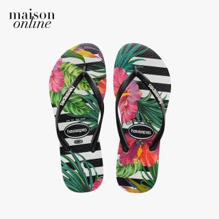 HAVAIANAS - Dép nữ Slim Tropical Floral 4139406-4343 thumbnail