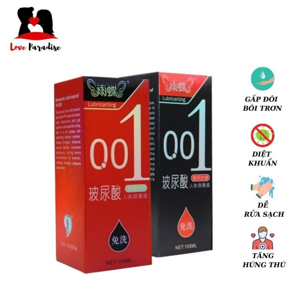 Gel bôi trơn Axit Hyaluronic Acid 001, giúp tăng cường độ ẩm tự nhiên cho chị em phụ nữ, lọ 105ml - Love Paradise cao cấp