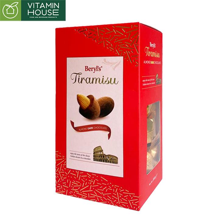 Kẹo Tiramisu hạnh nhân 200g đỏ