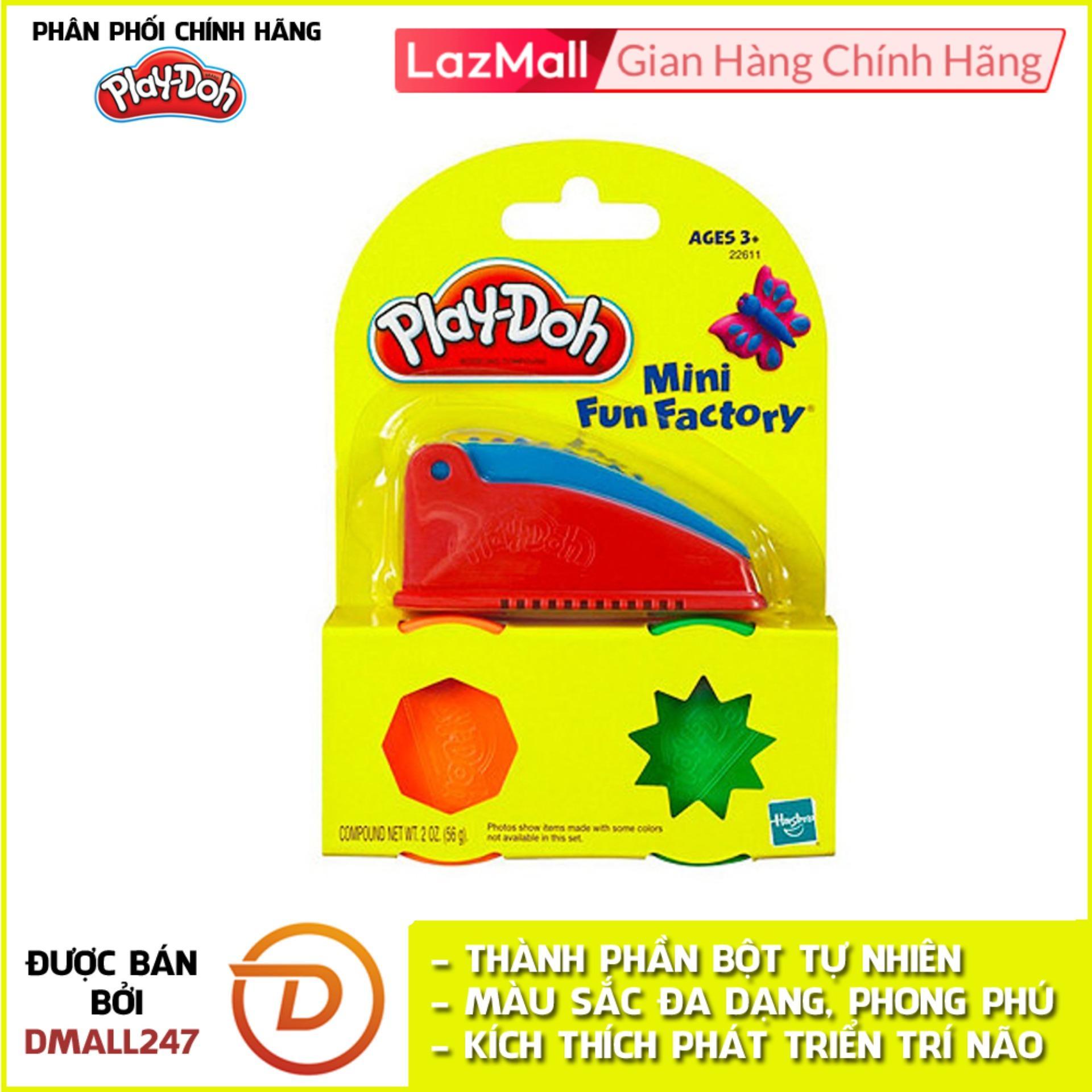 Bộ Bột Nặn Tạo Hình Nhà Máy Vui Vẻ Mini Play-Doh 22611 Đang Ưu Đãi