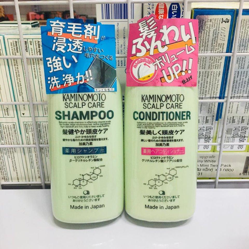 Dầu gội mọc tóc của Nhật Kaminomoto Scalp Care Shampoo