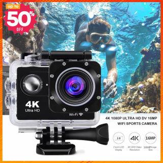 [HCM]CAMERA A19 -4K CÓ REMOTE FULL BOX Camera hành trình 3.0 FULL BOX HD 4k Cam A19 - Camera hành trình mini chống nước chống rung - camera hành trình xe máy phượt Lỗi 1 đổi 1 thumbnail