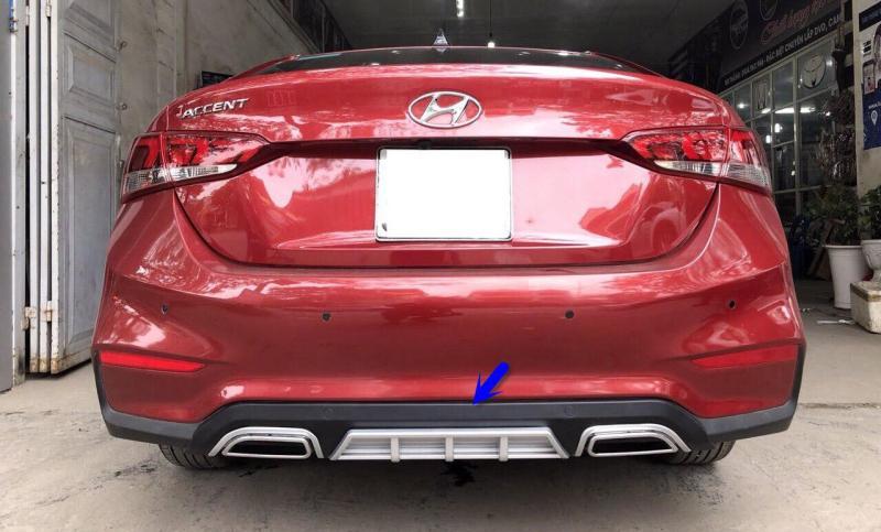 Líp chia pô theo xe Hyundai Accent 2018