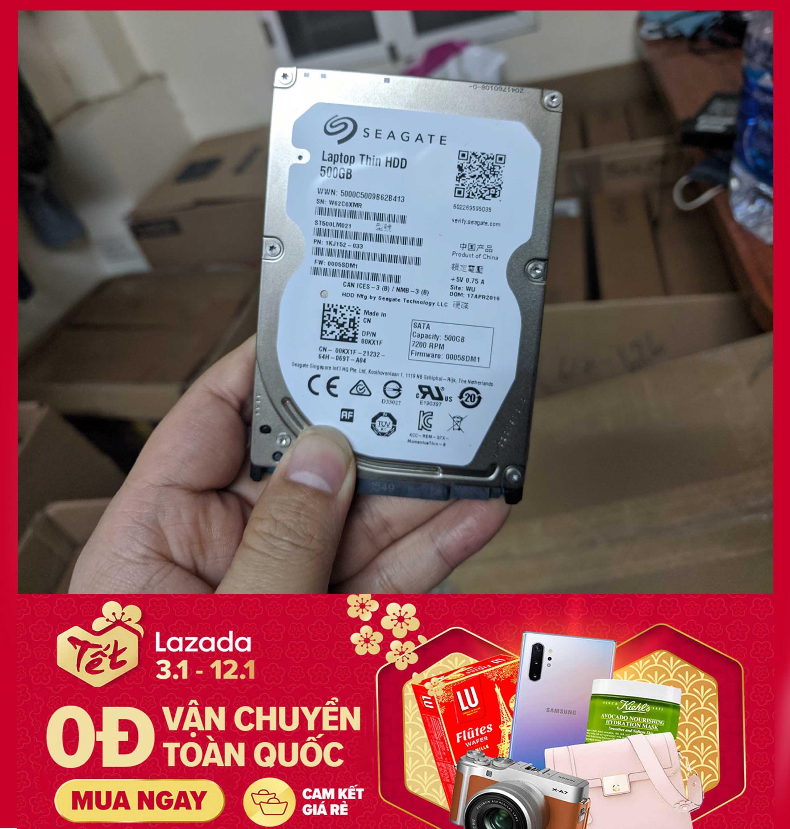 Giá Ổ cứng Laptop HDD 500gb