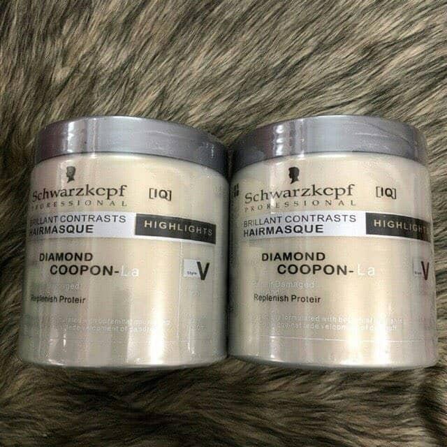 Kem Ủ Tóc Hấp Tóc Schwarzkcpf Diamon 1000ml Đức phục hồi tóc hư tổn, làm tóc bóng mượt - Laha-Shop