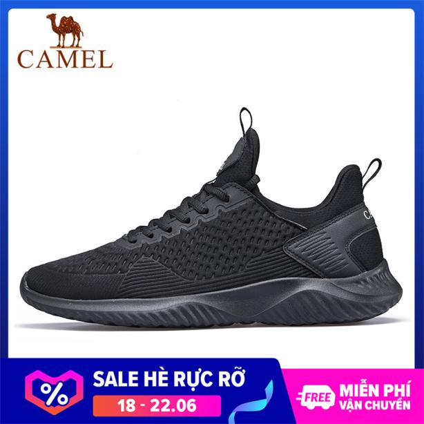 Giày sneaker thể thao unisex nam nữ thoáng khí form ôm chân đơn giản Camel giá rẻ