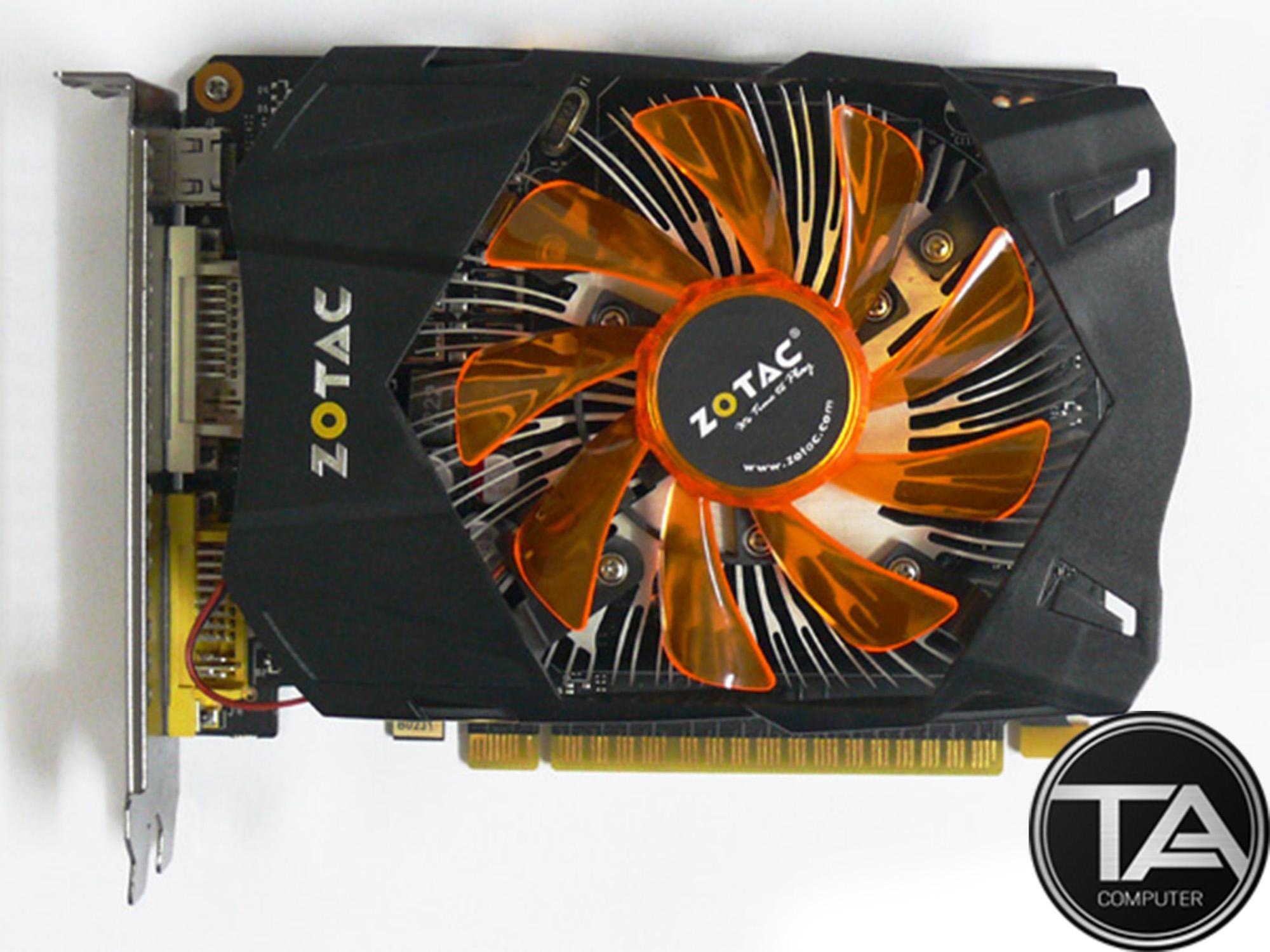 Hình ảnh Card đồ họa Zotac GTX 750Ti 2Gb DDR5 128bit - Zotac GTX 750Ti 2GB