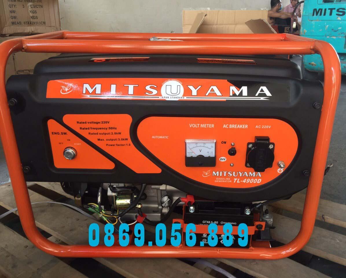 Máy phát điện chất lượng Mitsuyama TL-4900D