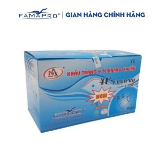 [HCM]Khẩu trang y tế 4 lớp kháng khuẩn Famapro 4U ( 50 cái hộp ) thumbnail
