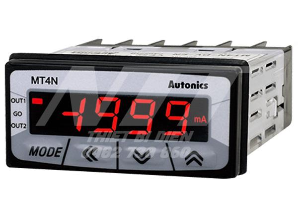Đồng hồ đo dòng DC MT4N-DA-E4 Autonics