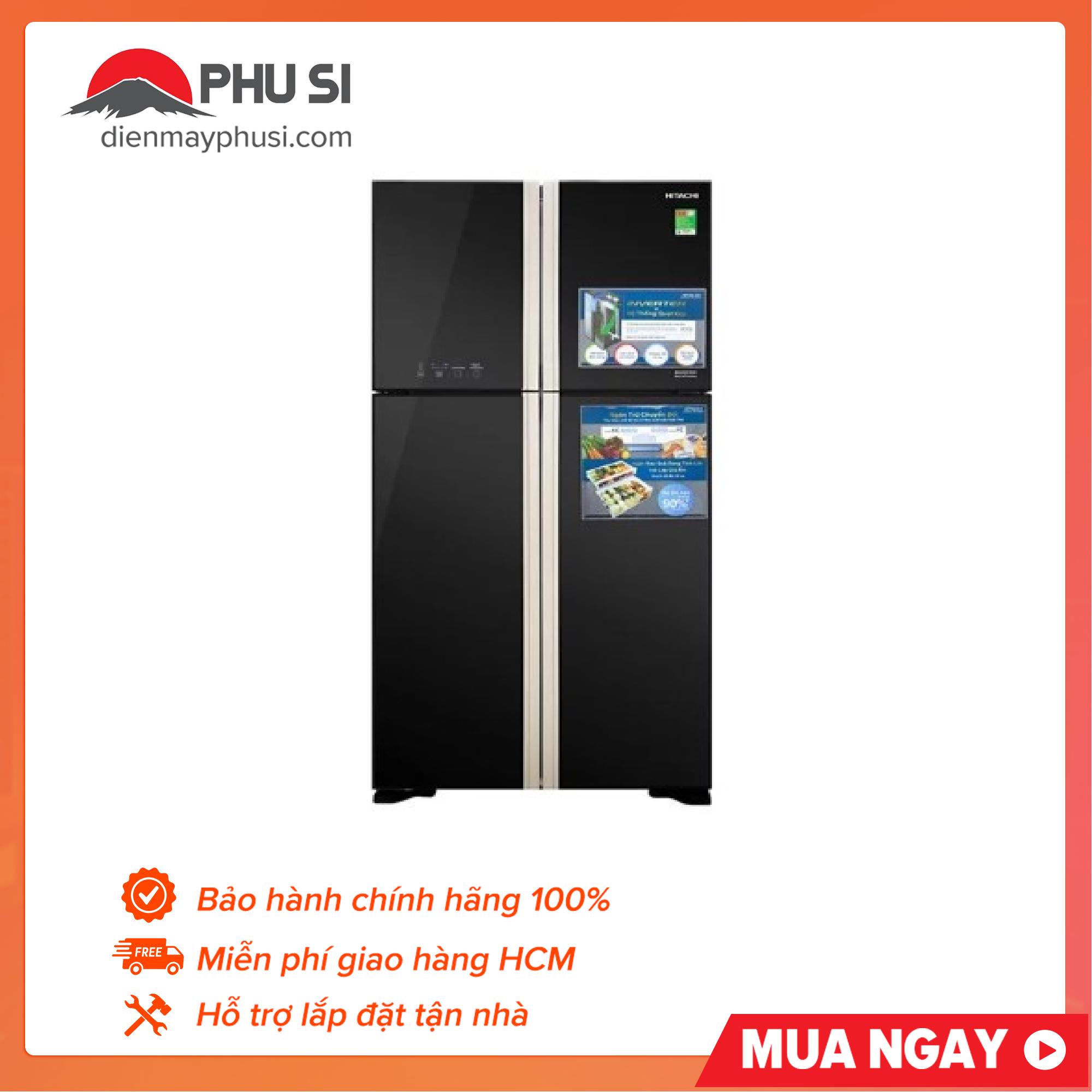 Bảng giá Tủ lạnh HITACHI FW650PGV8(GBK) Điện máy Pico