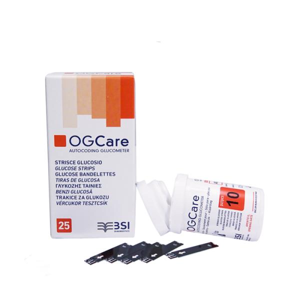 Que thử đường huyết OGcare Hộp 25 que bán chạy