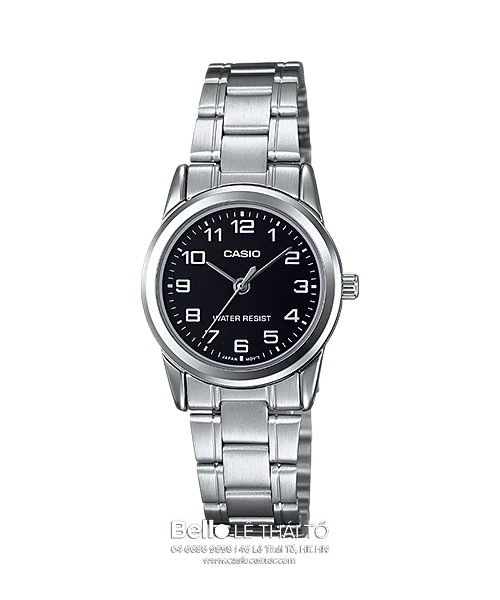 Đồng hồ Casio Nữ LTP-V001D-1B bảo hành chính hãng 1 năm - Pin trọn đời