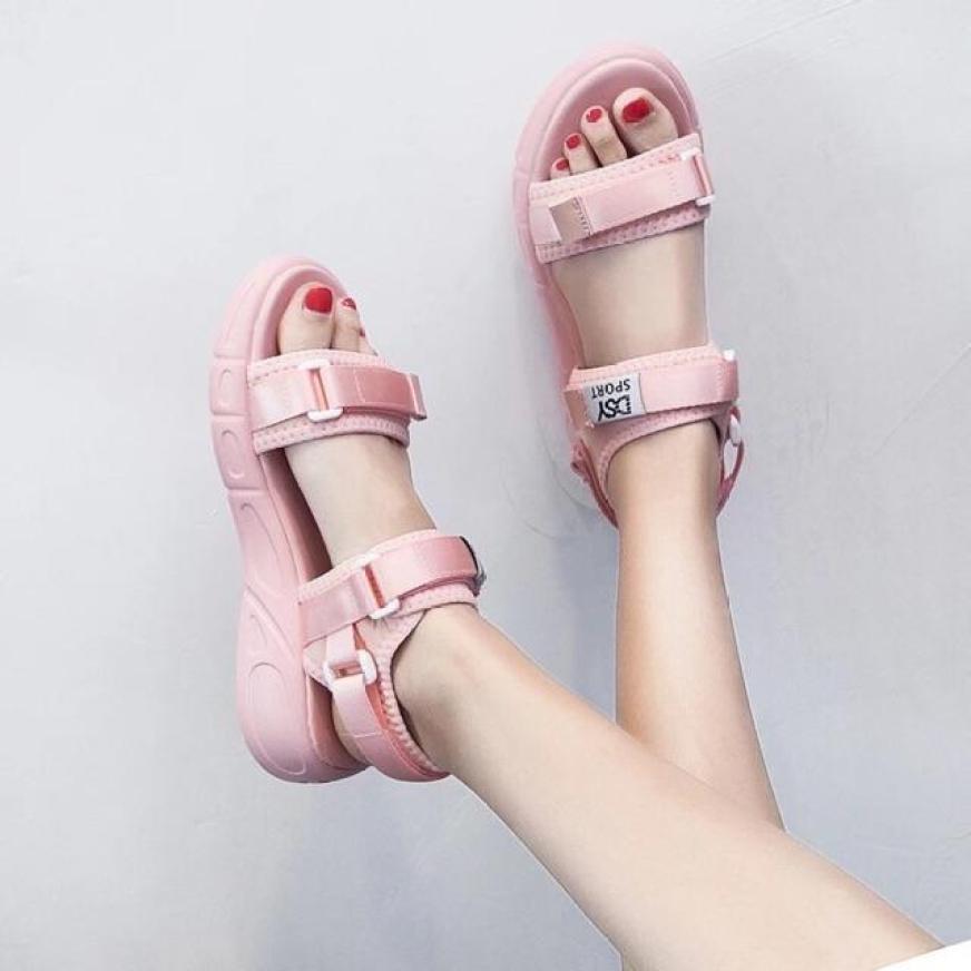 sandal nữ quai chữ spost siêu nhẹ siêu êm giá rẻ