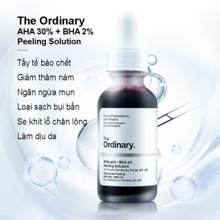 [HCM]Serum Tẩy Da Chết The Oridnary AHA 30% + BHA 2% Peeling Solution Tinh Chất Tẩy Tế Bào Chết Peeling Da thumbnail
