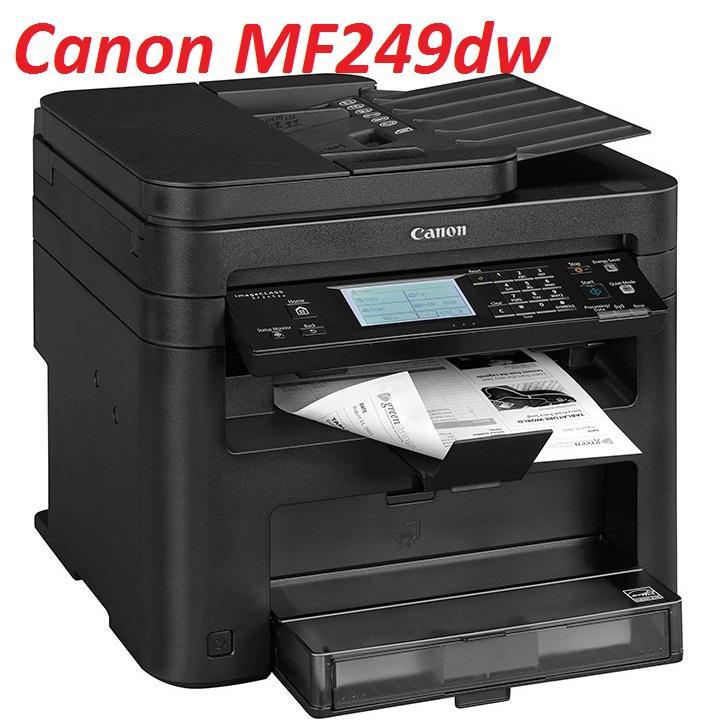 Giá Máy in Laser WIFI đa chức năng Canon MF249DW. (In 2 mặt+ Mạng + Wifi–Scan–Copy-Fax)