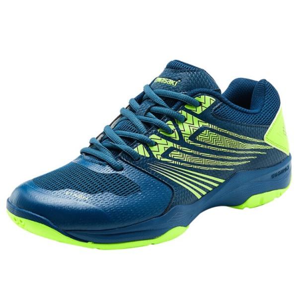Giày cầu lông nam nữ Kawasaki K163 đủ size,đế cao su già đàn hồi,chống trơn trượt-giày thể thao nam nữ,giày đánh bóng chuyền