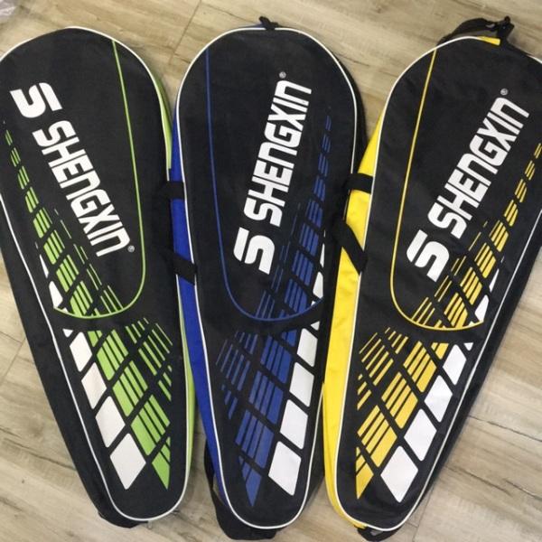 Cặp 2 vợt cầu lông bền đẹp S Shengxin tặng 1 ống cầu lông Hải Yến Bạc, sản phẩm tốt với chất lượng và độ bền cao