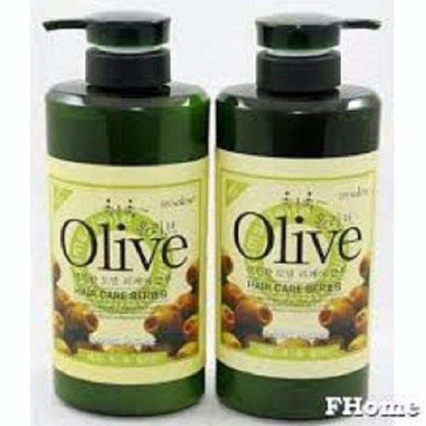 Combo Gội và Xã Olive Hàn Quốc 800ML giá rẻ