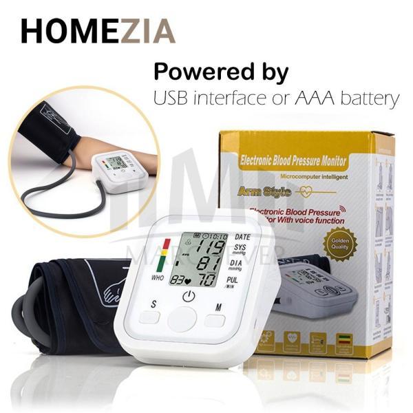 Máy đo huyết áp và theo dõi nhịp tim Kỹ Thuật Số với Màn Hình LCD cao cấp