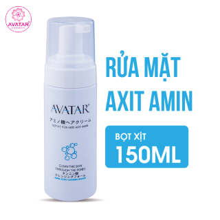 Bọt xịt rửa mặt Axit Amin - Sữa Rửa Mặt Dạng Bọt Làm Sạch Dành Cho Da Dầu Nhạy Cảm Avatar thumbnail