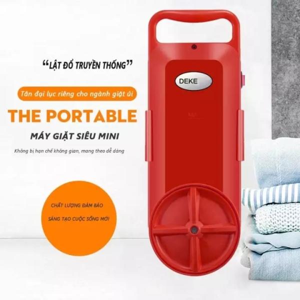 Bảng giá giặt mini cỡ nhỏ DEKE. Máy giặt di động mini cho những chuyến du lịch, dã ngoại Điện máy Pico