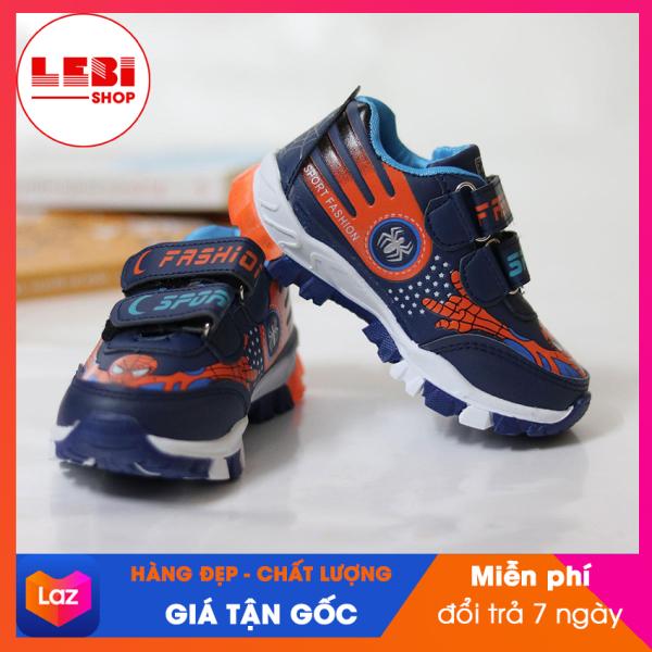 [HOT TREND 2020] Giày thể thao trẻ em Lebi Shop - Siêu nhân đèn - {HÀNG ĐẸP, GIÁ GỐC} Giày thể thao cho bé trai, giày đèn phát sáng, giày cho trẻ em: 1 tuổi, 2 tuổi, 3 tuổi, 4 tuổi, 5 tuổi, 6 tuổi