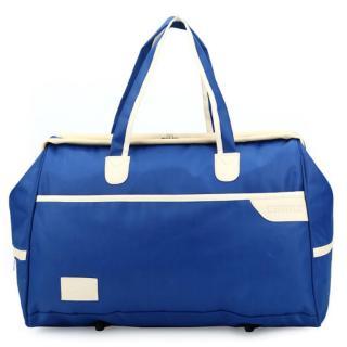 Túi xách du lịch cao cấp - Túi Đựng Hành Lý,túi đựng quần áo - Dark blue - FS -205889-4 X -GIA TOT thumbnail