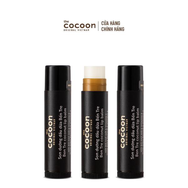 Combo 3 Son dưỡng dầu dừa Bến Tre Cocoon
