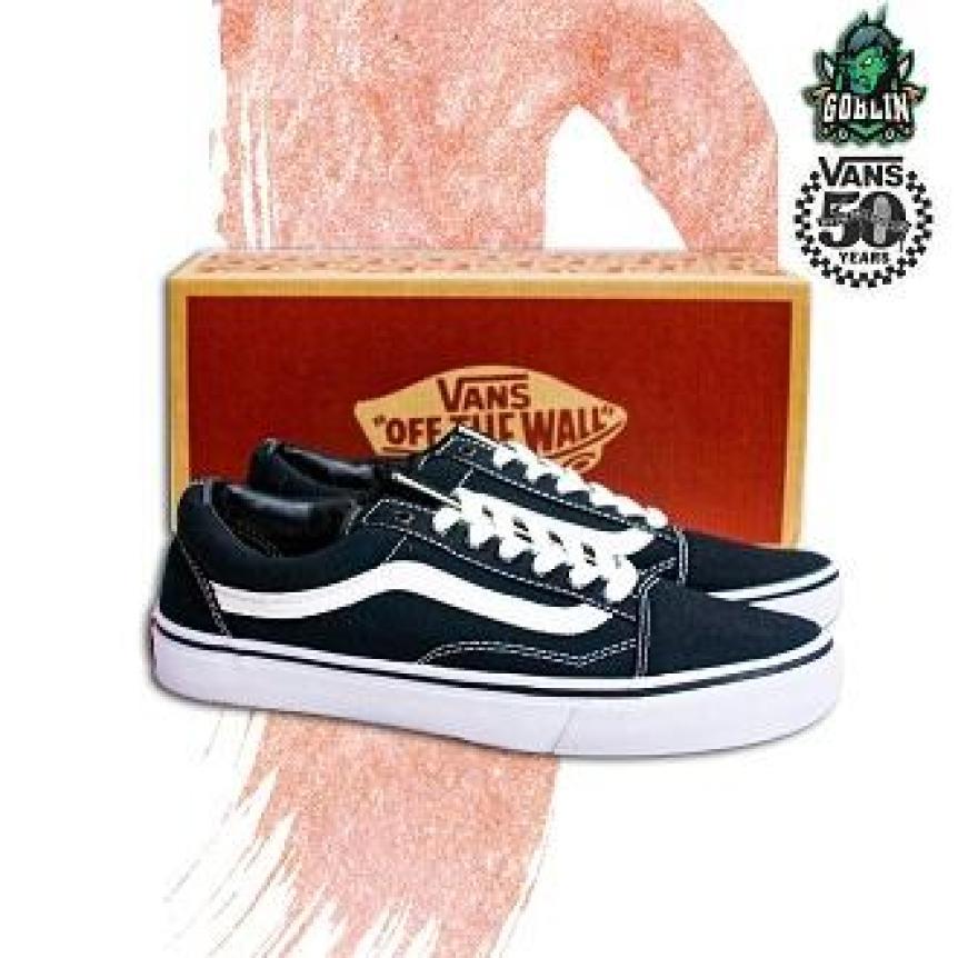 [CÓ BOX + TẶNG VỚ] Giày Vans Old Skool nam-nữ - Giày Sneaker NAM NỮ giá rẻ