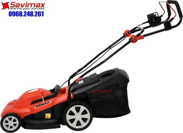 Máy cắt cỏ đẩy tay chạy điện YT-85208, máy xén cỏ 2000W cắt cỏ sân vườn chạy điện