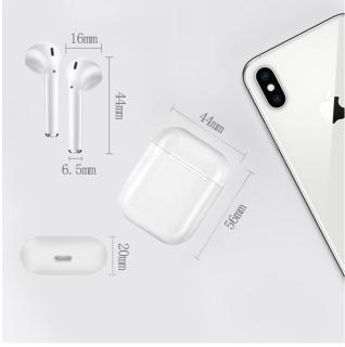 Tai nghe bluetooth i12 TWS phiên bản nâng cấp tai nghe âm thanh 8D, tai nghe i12 s nút điều khiển cảm ứng, mở nắp tự kết nối, tương thích với mọi hệ điều hành 3