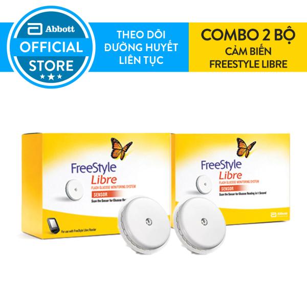 Combo 2 Bộ cảm biến đo đường huyết liên tục FreeStyle Libre bán chạy
