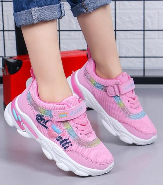 Giá bán giày thể thao đi học cho bé gái êm chân sezi 30 đến 38 - TH10