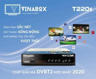 Đầu KTS t2 thế hệ mới 2020 xem truyền hình miễn phí 80 Kênh nhiều phim hay thumbnail